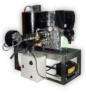 hidrolimpiadora agua caliente motor diesel