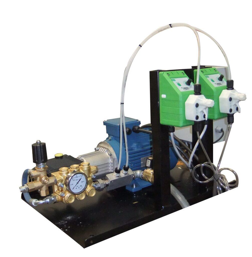 Hidrolimpiadora trifásica de agua fría.