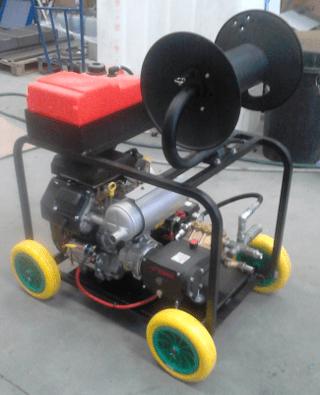 hidrolimpiadroas con motor Kohler