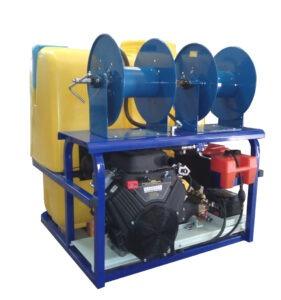 Hidrolimpiadora con motor de gasolina Vanguard de 35 HP