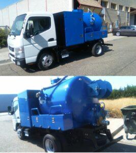 Camion de 7.5 TM para limpieza de tuberías y desatascos