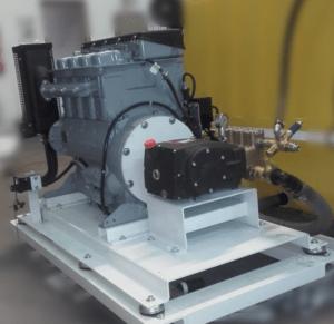 Hidrolimpiadora Diesel Hatz