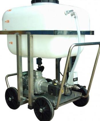 Hidrolimpiadora Industrial con depósito pulmon