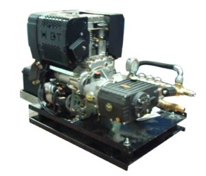 Hidrolimpiadora 200 bares Diesel con motor Lombardini 3000 RPM