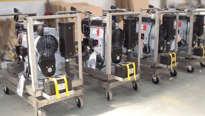 Hidrolimpiadoras diesel Elite 1800 RPM con motor Hatz
