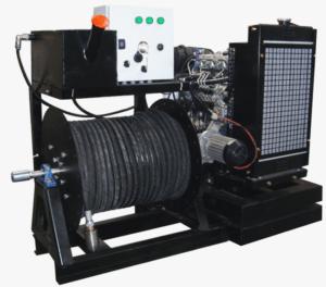 Hidrolimpiadora Industrial con motor diesel 200 bar