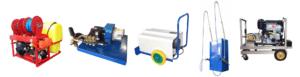 hidrolimpiadoras, maquinaria para desatascos y autolavado