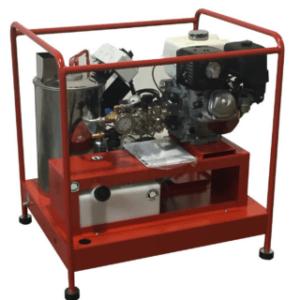 hidrolimpiadora de agua caliente