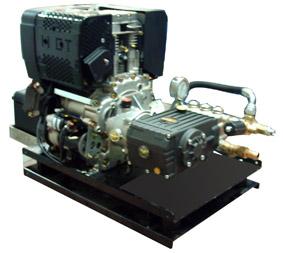 Hidrolimpiadora Diesel Profesional